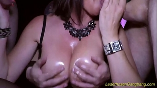 Crazy group-sex with breasty milf dacada