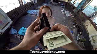 Teenslovemoney - leigh rose likes cash and sex