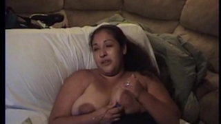 Busty latin babe milf plays with large milk shakes and egg vibrator.mov