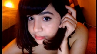 Hot legal age teenager on web camera cute