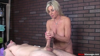 Meanmassage-awesome slavemaster cook jerking