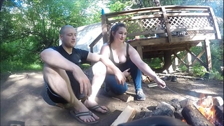 Lost hiker Married slut acquires drilled and takes anal creampie