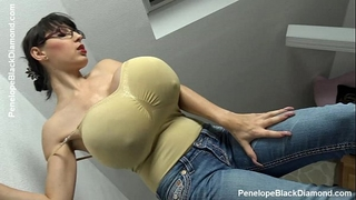 Penelope dark diamond - milking melons - breastfeeding marangos preview