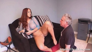 Lick domina sophie dee juicy snatch thrall!