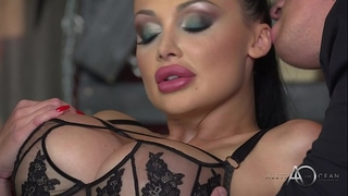 Aletta ocean - dark leather double fun - alettaoceanlive