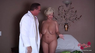 Claudia marie receives her fake breasts put back in!