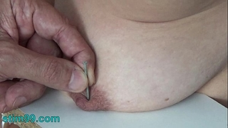 Extreme needle punishment s&m and electrosex. nails and needles tortured