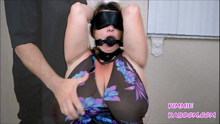 Kimmie kaboom boob & nipp punishment