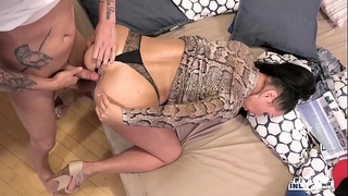 Kinky inlaws - forbidden anal sex with russian milf eva ann and youthful stepson